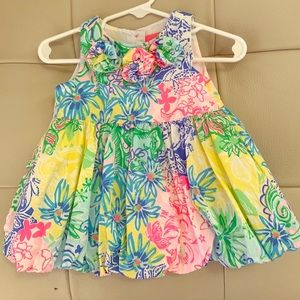 Lilly Pulitzer dress and bloomers!